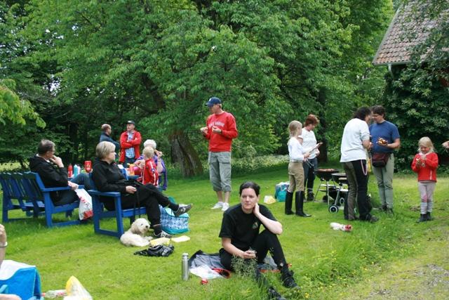 Ryttarfest på IsKroken med TREC-tävling