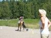 Gymkhana-tävling: full fart tillbaka