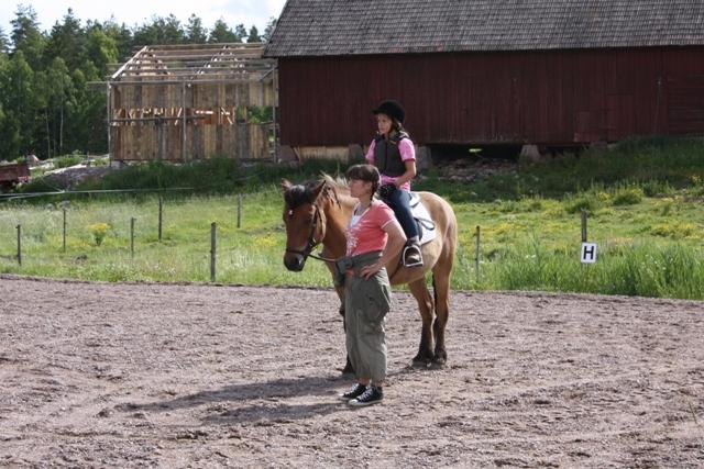 Ponnyridning på IsKroken